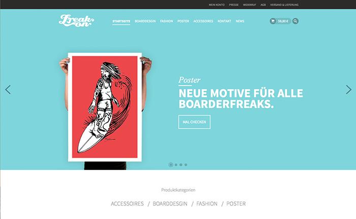 der neue Onlineshop von Freaks of Fashion