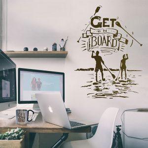 get_on_board_wallsticker