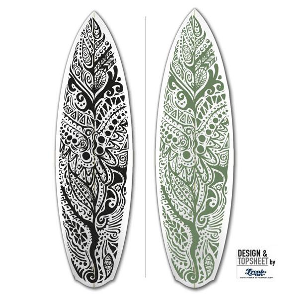 Fabric for Surfboards Design by freaksoffashion.com