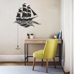 walldeco_sailing1