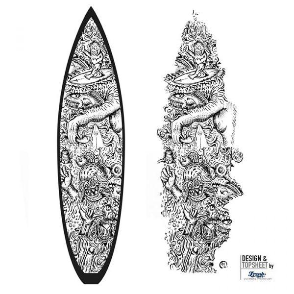 Surfboardinlay Surfmonster
