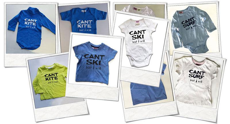 Babyshirts und Strampler Preiswerte Einzelstücke